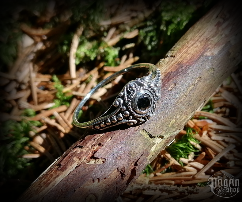 Ring with crystal Amara - 925 sterling silver