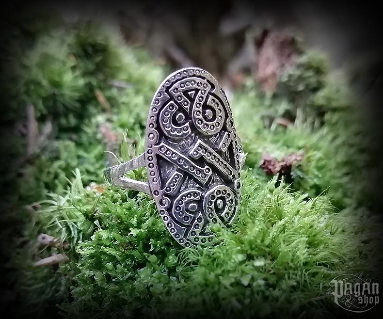Ring Viking Dagaz - 925 sterling silver