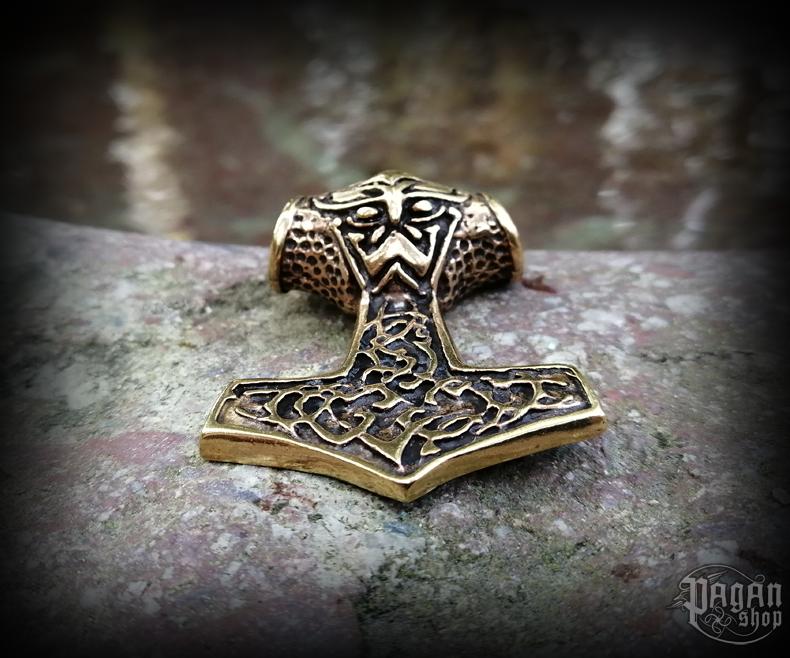Pendant Thor's hammer Sigurd - bronze