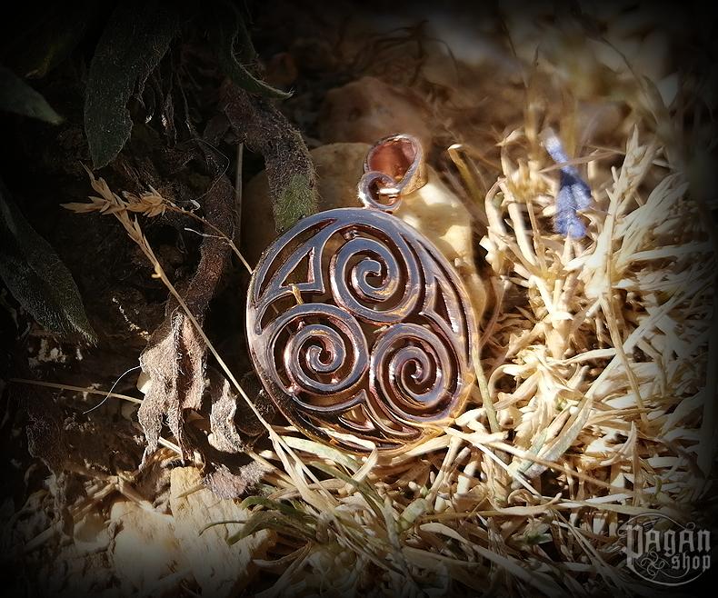Přívěsek Triskel Sheena - bronz