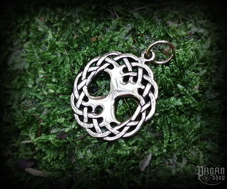 Pendant Tree of life Darach - bronze