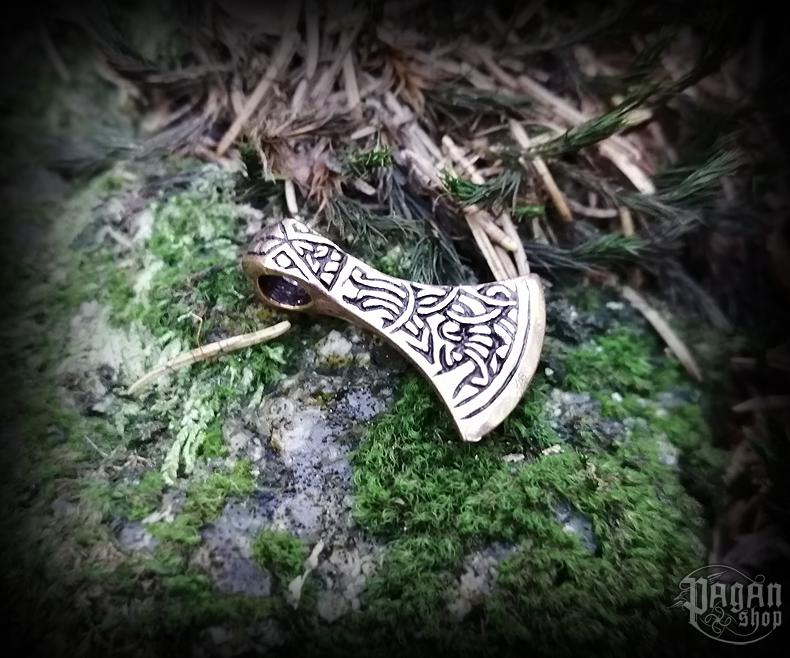 Přívěsek Vikingská sekera Ultana - bronz