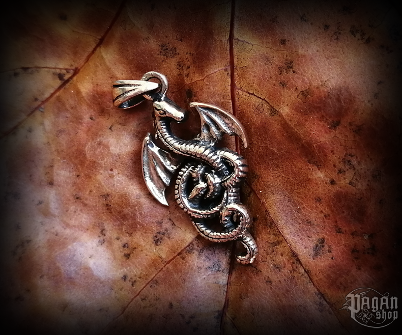 Pendant Dragon Serpentum - bronze