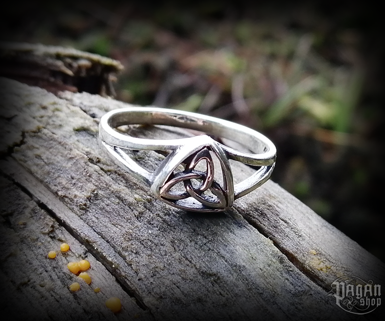 Ring Triquetra Tara - 925 sterling silver