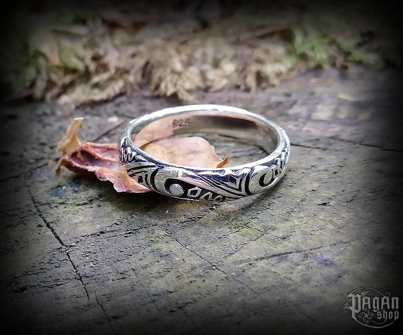 Ring Ornament Britta - 925 sterling silver