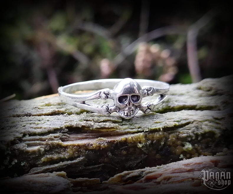 Ring Skull Jolly - 925 sterling silver