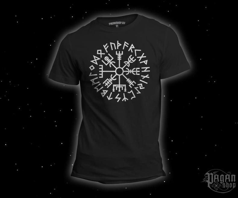 T-shirt Vegvisir Futhark black