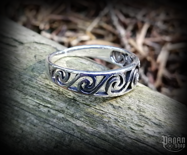 Ring Celtic Morgaine - 925 sterling silver