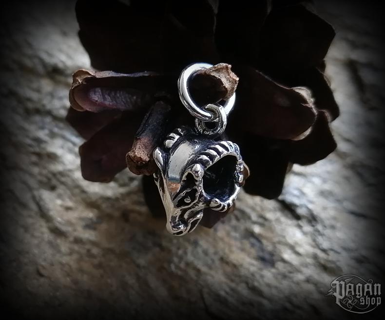 Pendant Ram's head Rútur - 925 sterling silver