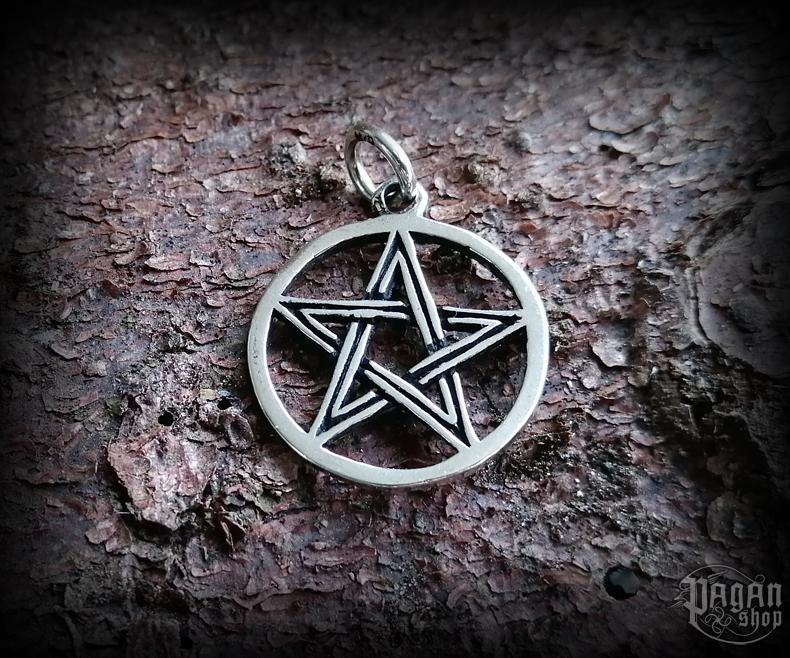 Pendant Pentagram Auric - 925 sterling silver