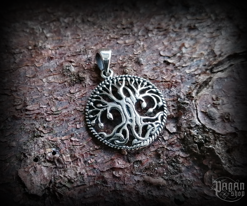 Pendant Tree of life Ulme - 925 sterling silver