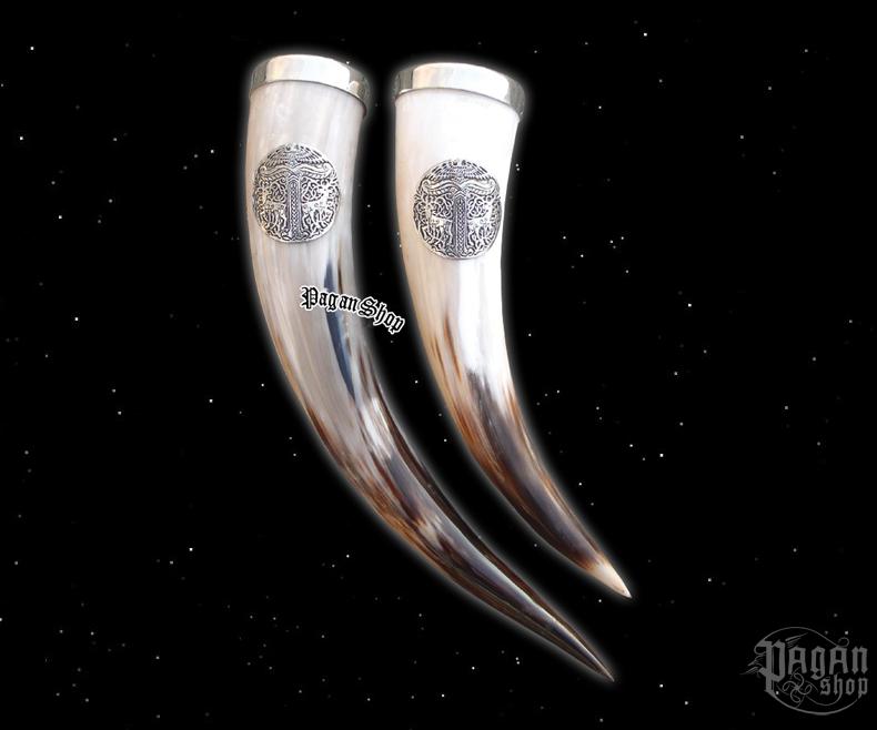 Horn 0,5 - Irminsul with tin edge