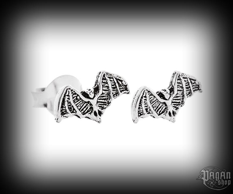 Stud earrings Bat Svanti - 925 sterling silver