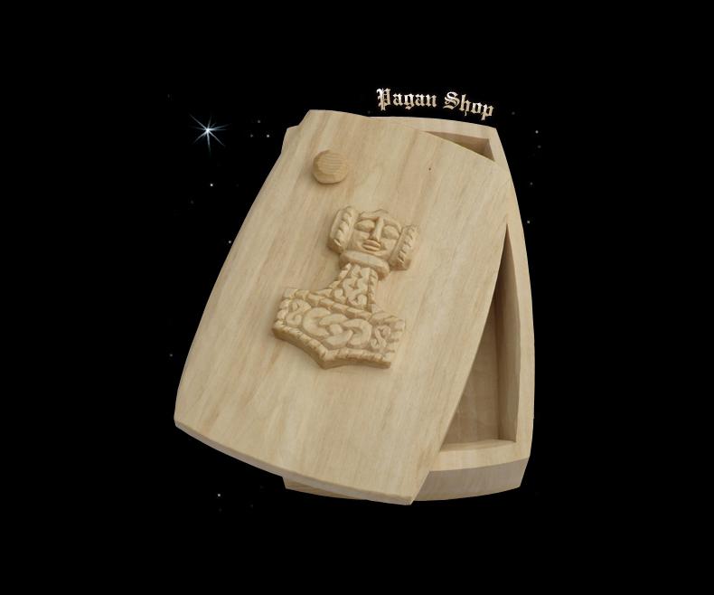 Jewelry box Thor's hammer Donar