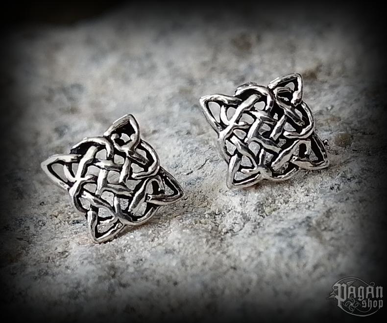 Stud earrings Celtic Arona - 925 sterling silver