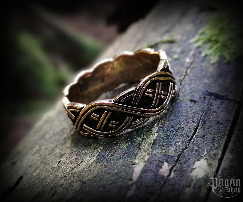 Ring Viking Arvika - bronze