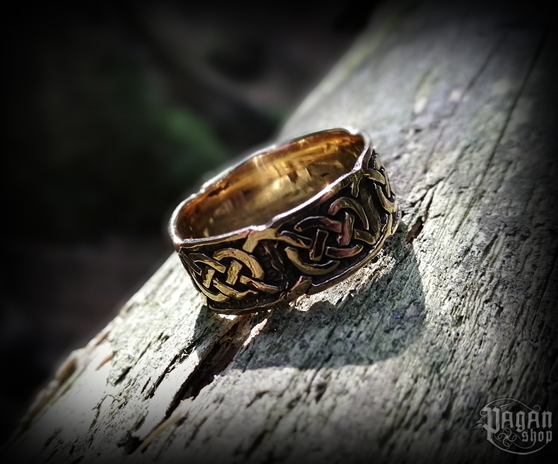 Ring Celtic Lugh - bronze