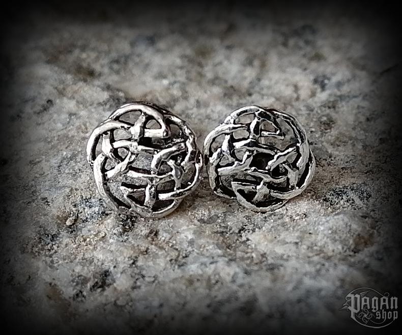 Stud earrings Celtic Nuri - 925 sterling silver
