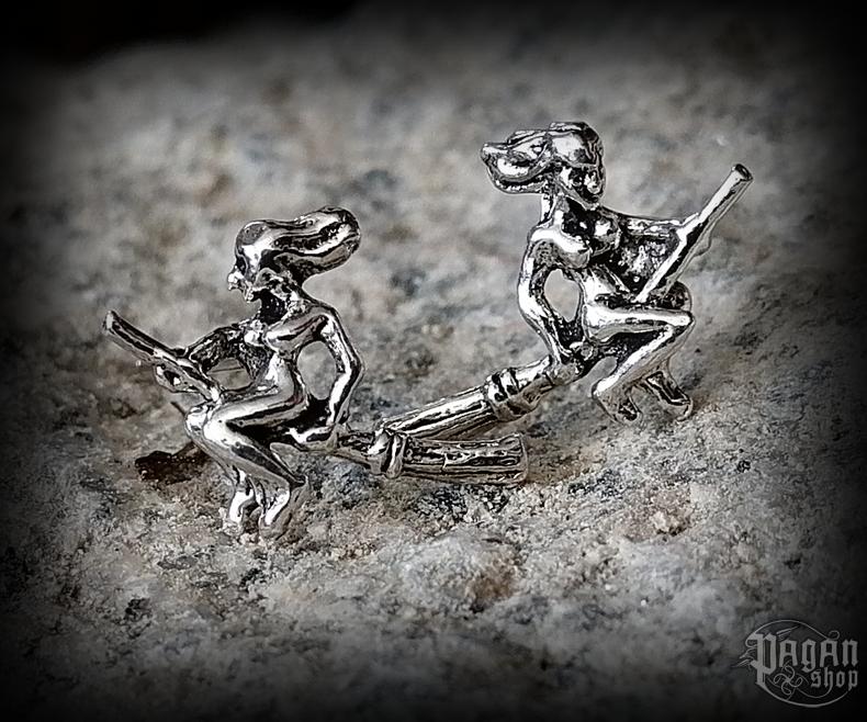 Stud earrings Witch Zuli - 925 sterling silver