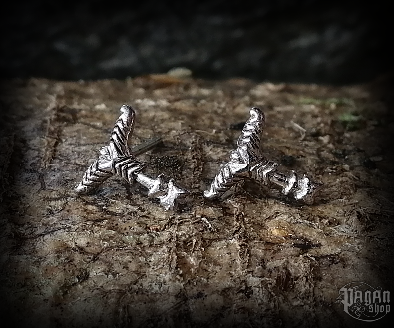 Stud earrings Irminsul Rika - 925 sterling silver