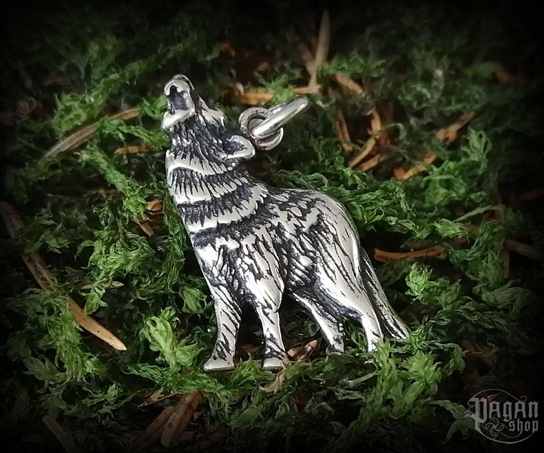 Pendant Wolf Grunt - 925 sterling silver