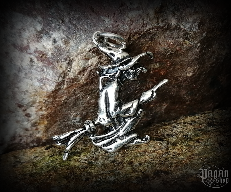Pendant Witch Midia - 925 sterling silver