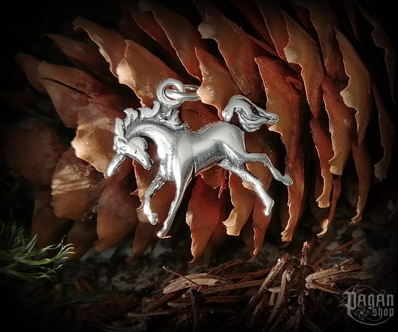 Pendant Unicorn Baine - 925 sterling silver