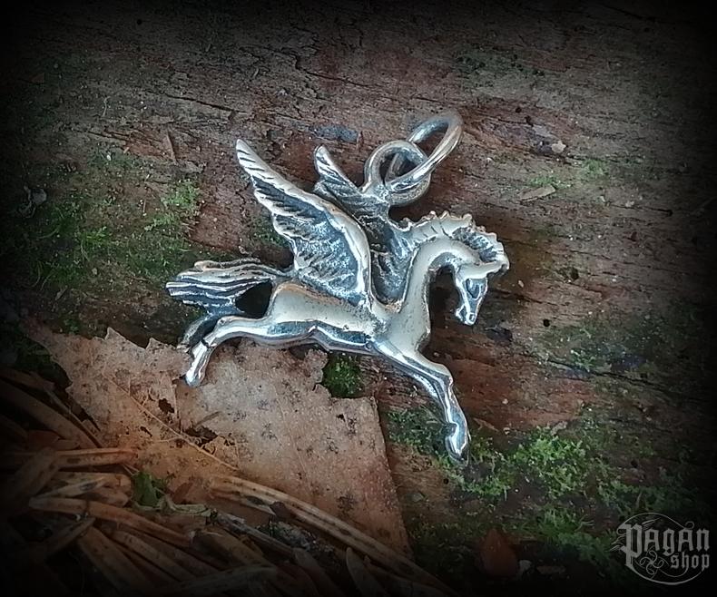 Pendant Horse Pegasus - 925 sterling silver