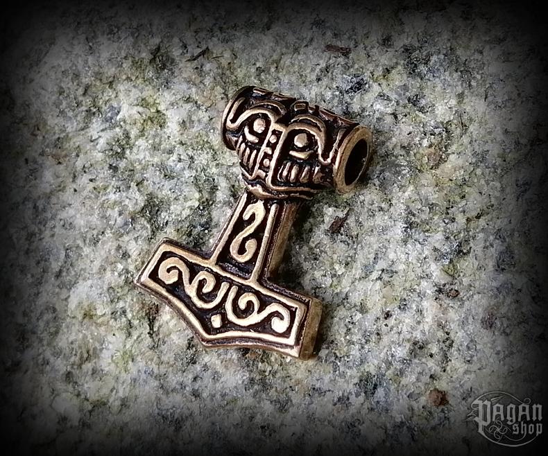 Přívěsek Thorovo kladivo Steinthór - bronz