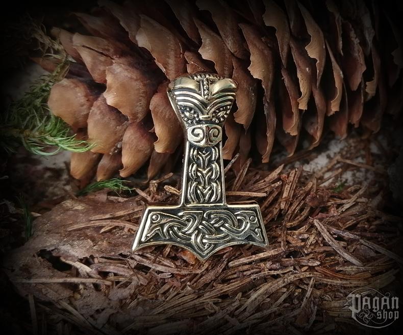 Přívěsek Thorovo kladivo Thorak - bronz