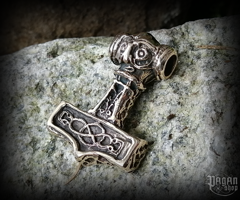 Přívěsek Thorovo kladivo Thorlak - bronz