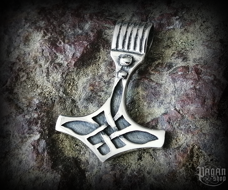 Pendant Thor's hammer Thorgest - 925 sterling silver