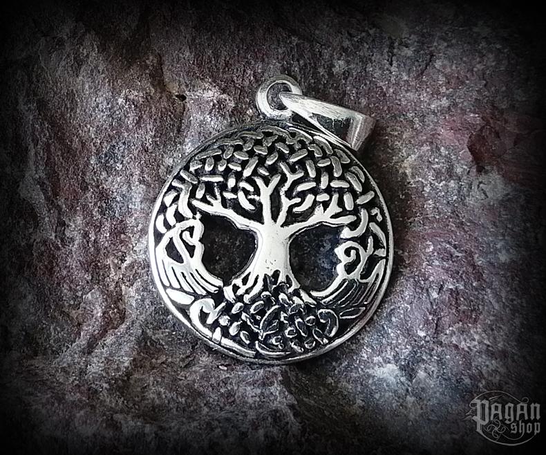 Pendant Tree of life Yggrliten - 925 sterling silver