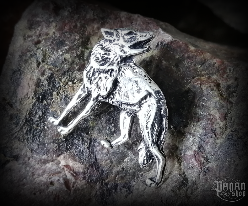 Pendant Wolf Nomi - 925 sterling silver