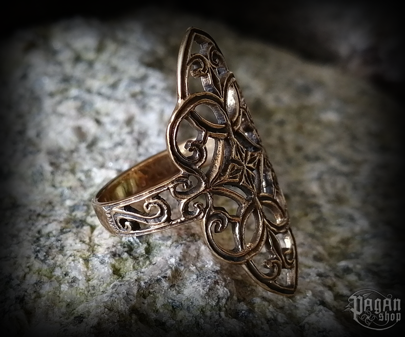 Ring Ornament Finja - bronze