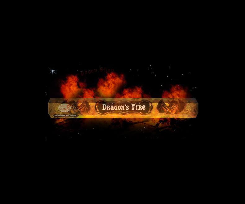 Incense sticks Dragon's fire