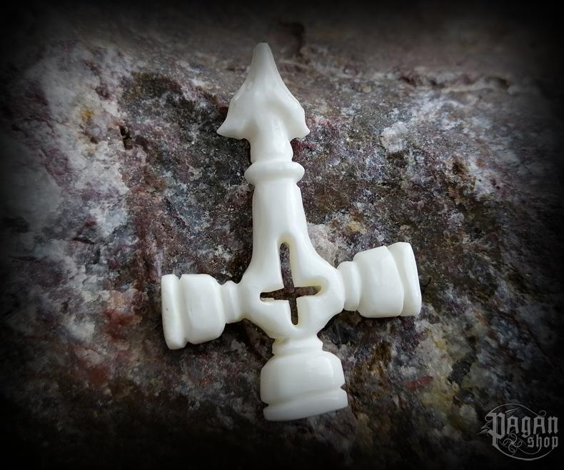 Pendant Thor's hammer Úlfur - bone