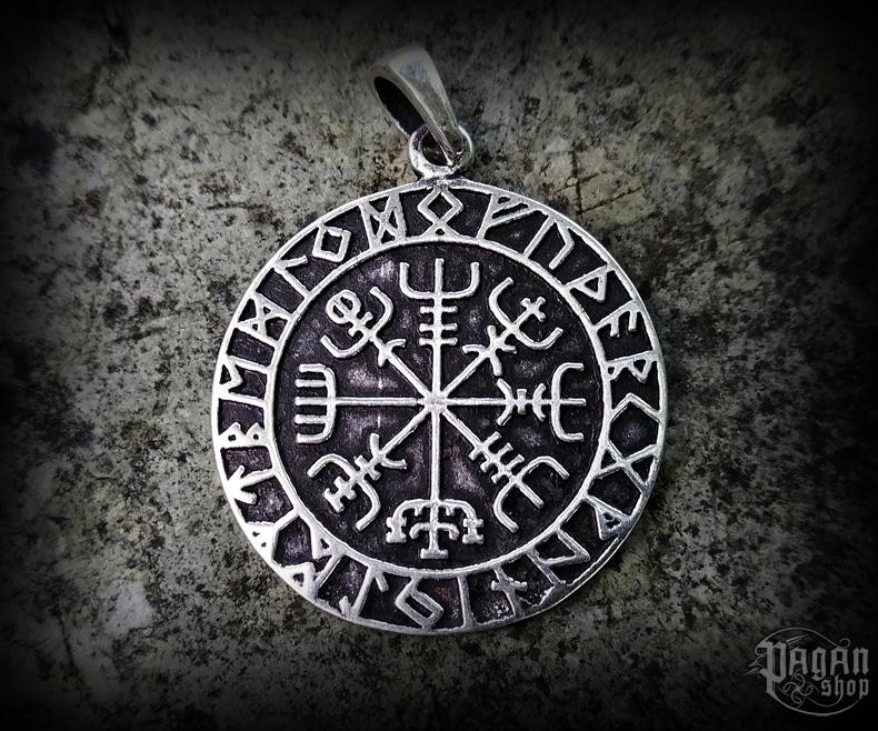 Pendant Vegvisir Ragsøn - 925 sterling silver