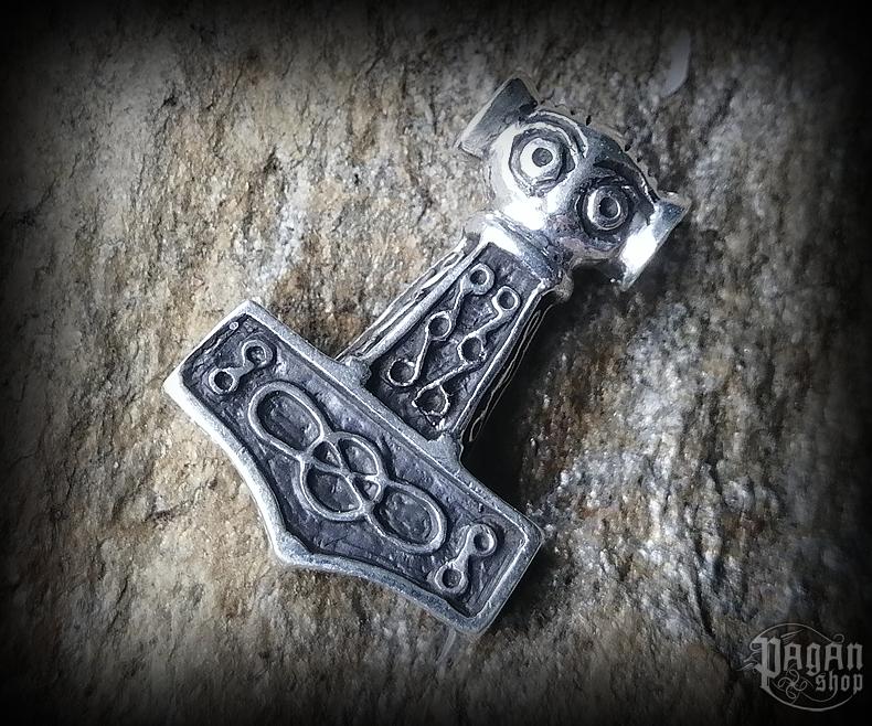 Pendant Thor's hammer Raghnal - 925 sterling silver - 11 g
