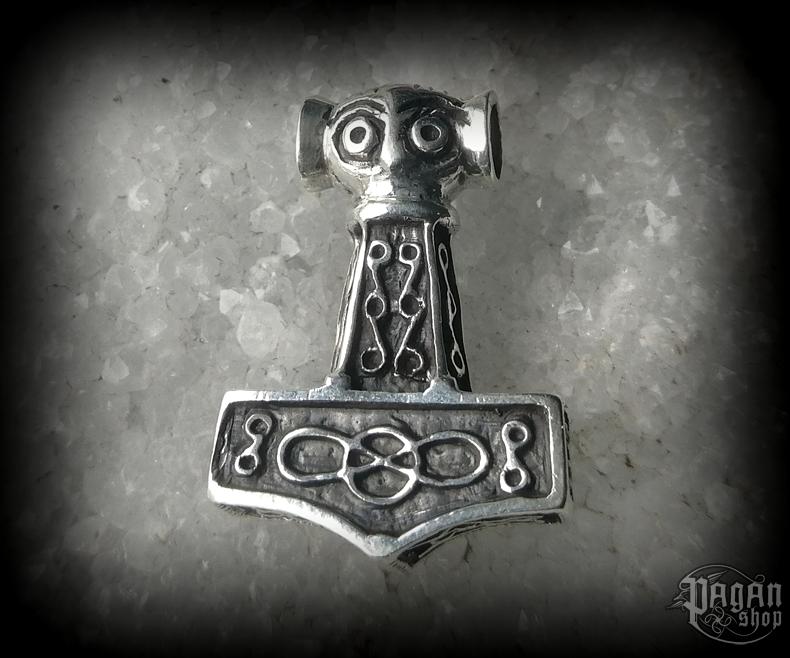 Přívěsek Thorovo kladivo Raghnal - Ag 925/1000 - 11 g