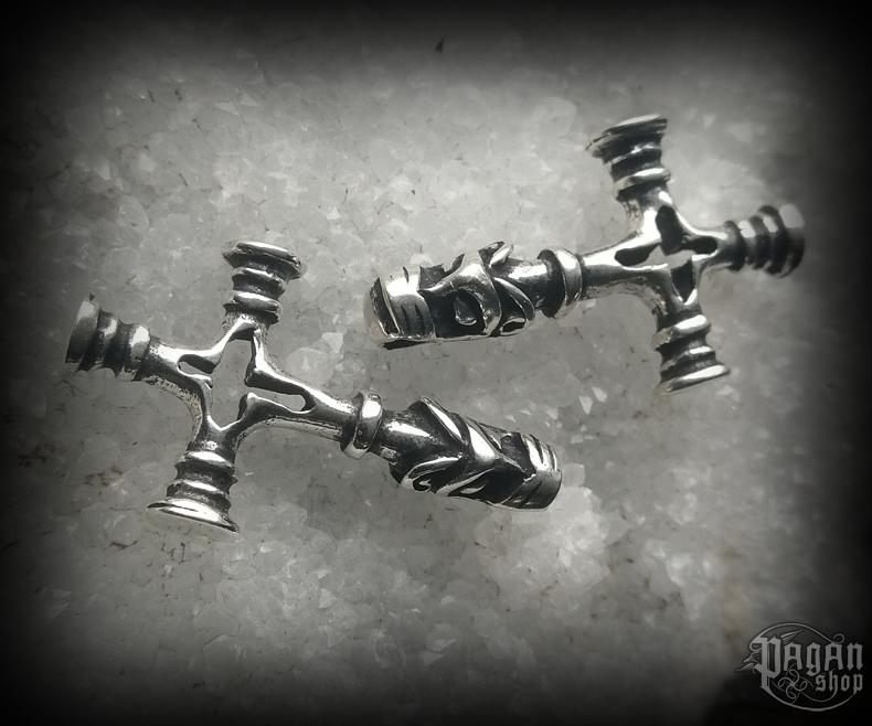 Pendant Thor's hammer Úlfur - 925 sterling silver