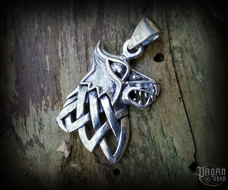 Pendant Wolf Fenrir - 925 sterling silver