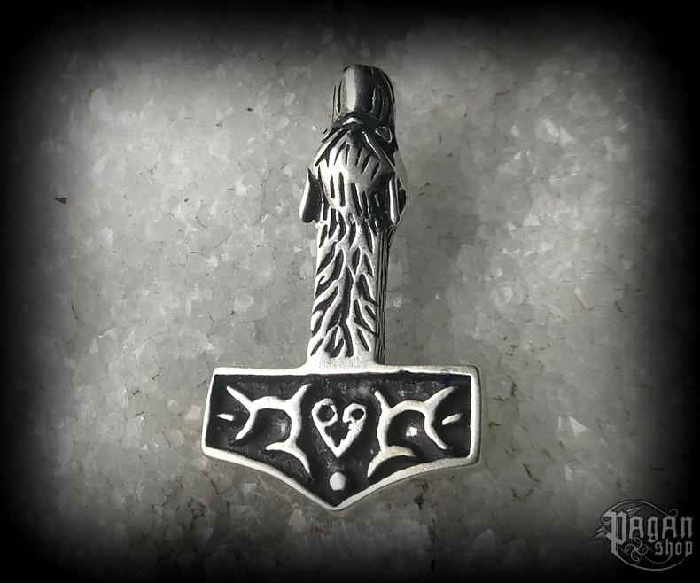 Přívěsek Thorovo kladivo Ulv - Ag 925/1000