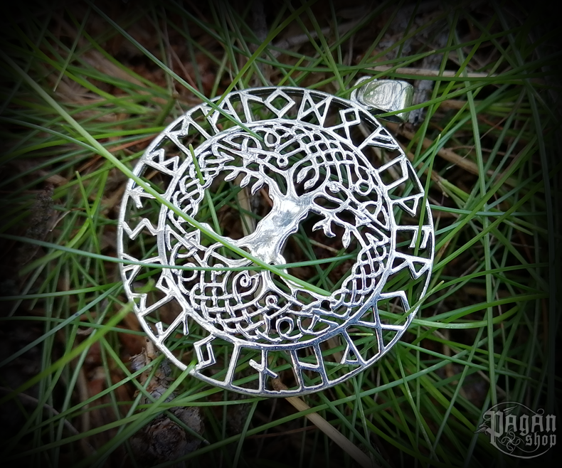 Pendant Tree of life Baruna - 925 sterling silver