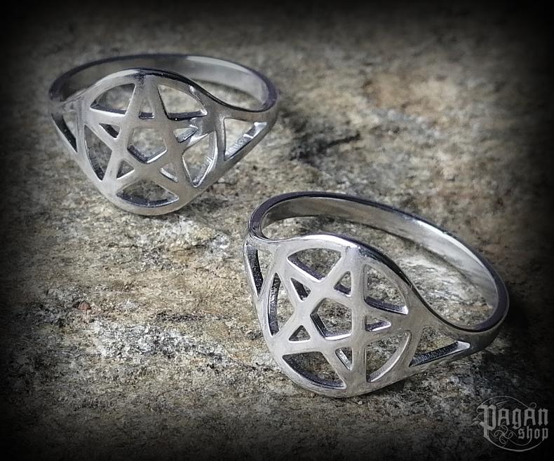 Ring Pentagram Pentas - 316L