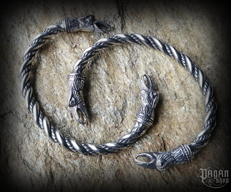 Bracelet Hugin and Munin - 316L