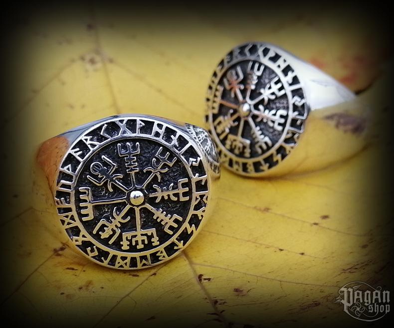 Ring Vegvisir Ragsøn - 925 sterling silver