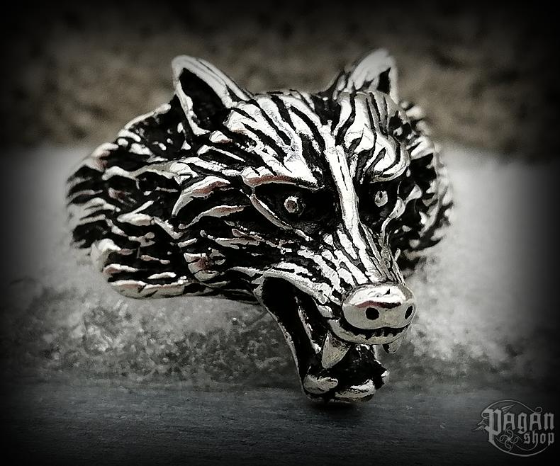 Prsten Vlk Fenrir - Ag 925/1000