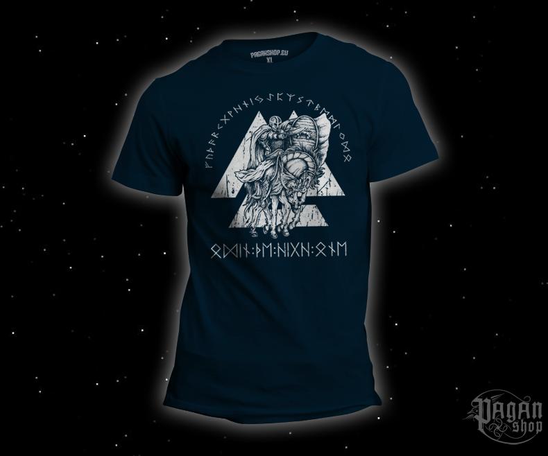 T-shirt Odin the High One dark blue