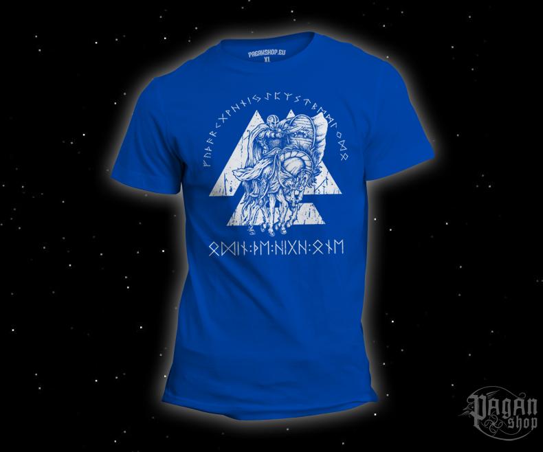 T-shirt Odin the High One light blue